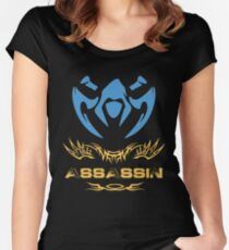 League of Legends ASSASSIN [emblem] Women's Fitted Scoop T-Shirt