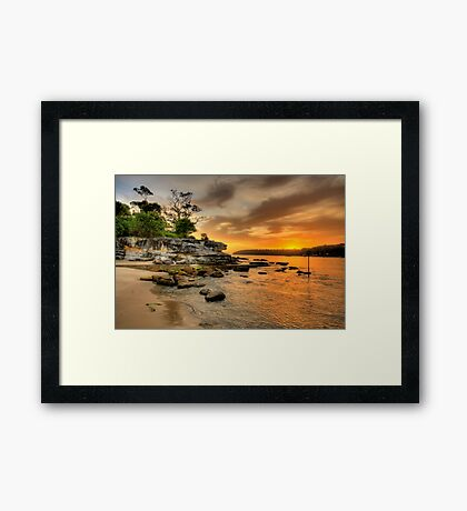 Fantasia By The Sea - Balmoral Beach - The HDR Series Framed Print