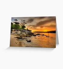 Fantasia By The Sea - Balmoral Beach - The HDR Series Greeting Card
