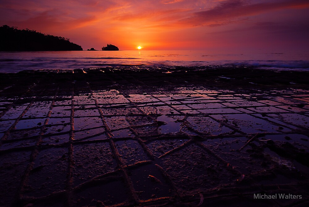 Dawn colours by Michael Walters