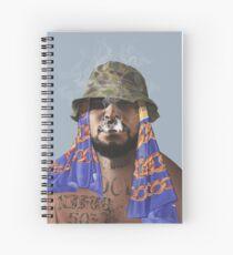 Schoolboy Q Digital Painting Spiral Notebook