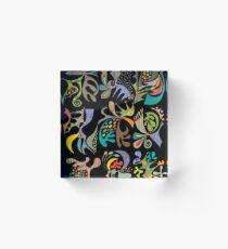 jubilee black Acrylic Block