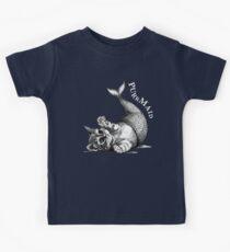 Purrmaid, Cat + Mermaid Hybrid Animal Kids Clothes
