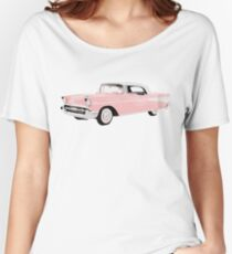 Vintage Chevrolet Pink | Cars Women's Relaxed Fit T-Shirt