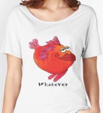 Whimsical Fish Whatever Art Women's Relaxed Fit T-Shirt