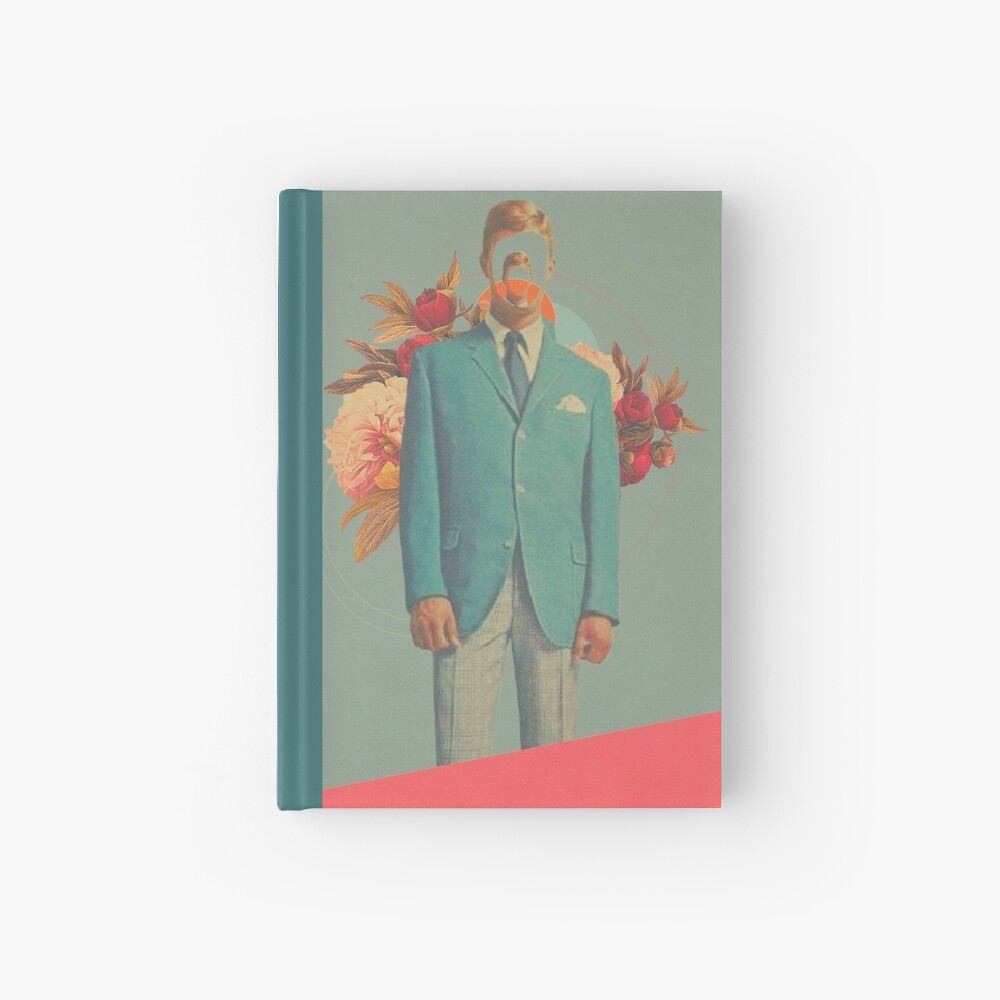 Absent Through my Adultness Hardcover Journal