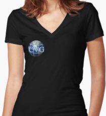 CVG Women's Fitted V-Neck T-Shirt