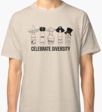 Funny Celebrate Diversity Drinking Shirt Spirits & Liquors Classic T-Shirt