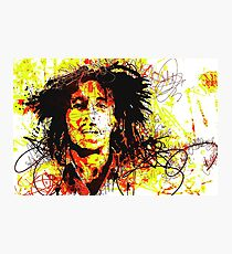 Bob Best Seller Marley Reggae Music Poster Photographic Print