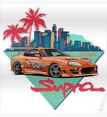 LA JDM Legend car style  Poster