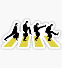 Ministry of Silly walk | Cult tv  Best of British | Monty Python Sticker