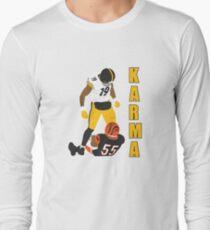 Antonio Brown - JuJu Smith-Schuster - steelers karma Long Sleeve T-Shirt