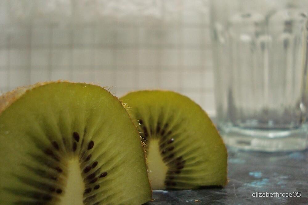 Kiwi Fruit by elizabethrose05