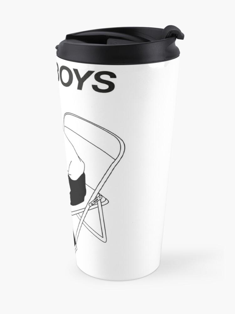 Alternate view of Sad boy Travel Mug