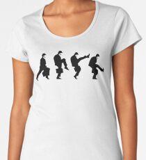 Ministry of Silly walk   Cult tv  Best of British   Monty Python Women's Premium T-Shirt