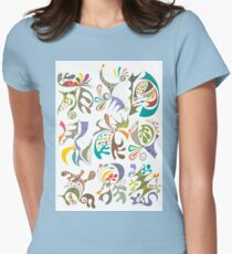 jubilee white Women's Fitted T-Shirt