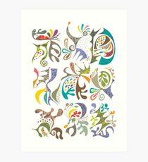 jubilee white Art Print
