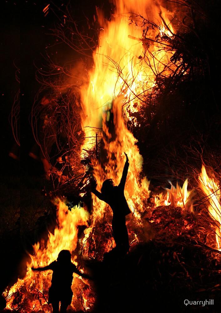 Bonfire night by Quarryhill