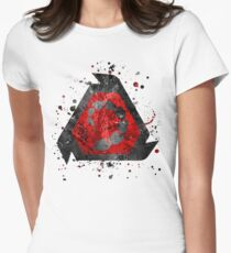 Command and Conquer - NOD Splatter  Women's Fitted T-Shirt