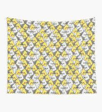 Too Many Birds! - Cockatiel Squad Wall Tapestry