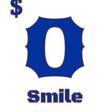 Zero dollar smile blue prints by georgewaiyaki