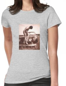 Memories of the Fifties [Austin A 90 ]1948 model ? Womens Fitted T-Shirt