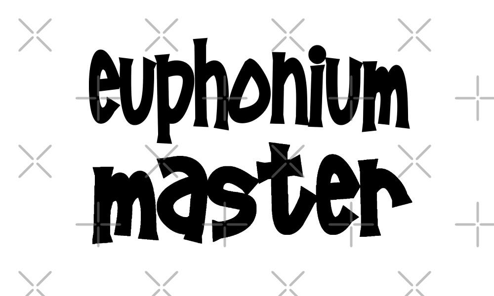 Euphonium Master - Funny Euphonium T Shirt  by greatshirts