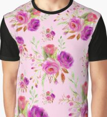 Floral roses Graphic T-Shirt