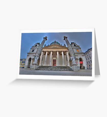 Karlskirche - Guardian Angels Greeting Card