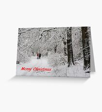 Christmas In The Park Greeting Card