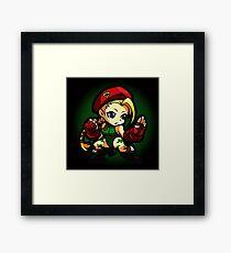 Puzzle Spirit: Cammy Framed Print