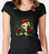 Puzzle Spirit: Cammy Women's Fitted Scoop T-Shirt