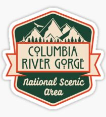 Columbia River Gorge National Scenic Area Sticker