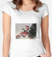 JoyRide #1 Women's Fitted Scoop T-Shirt