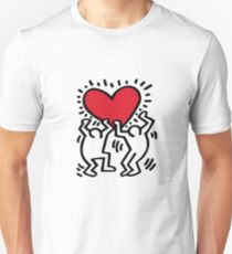 keith haring art work style clothing Unisex T-Shirt