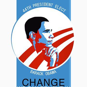 Obama Elect by JKPD