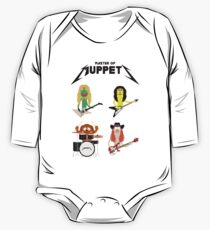 Master of Muppets - Muppets as Metallica Band One Piece - Long Sleeve