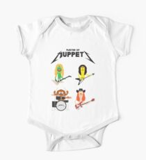 Master of Muppets - Muppets as Metallica Band One Piece - Short Sleeve