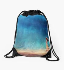 I Have Crossed the Horizon to Find You Drawstring Bag