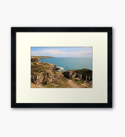 Winspit Framed Print
