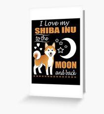 I'M A SHIBA INU MOMMY - Shiba Inu Shirt Greeting Card