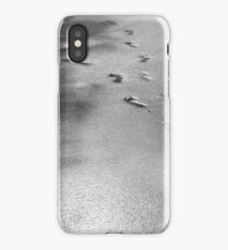 Nautical photography, beach, travel, black-and-white, iPhone Case/Skin