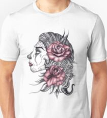 Face with Roses T-Shirt