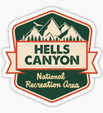 Hells Canyon National Recreation Area Sticker