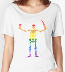 Pride Pirates Women's Relaxed Fit T-Shirt