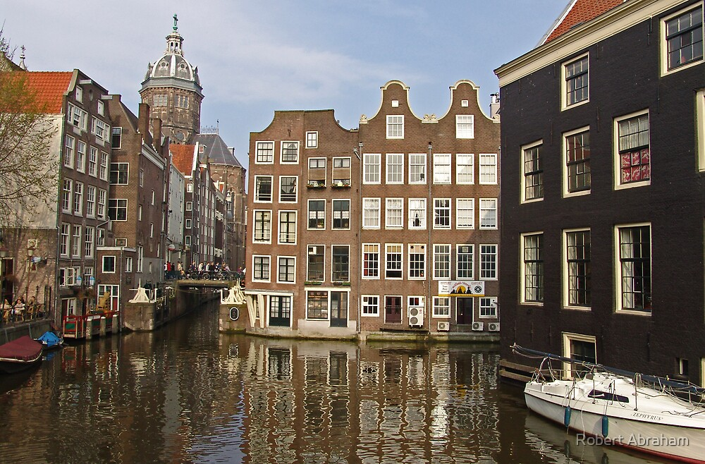 Canal Houses by Robert Abraham