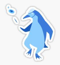 Lucky Penguin Sticker