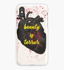 death is the mother of beauty. and what is beauty? terror. iPhone Case/Skin