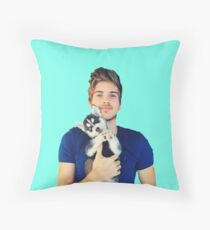 Joey Graceffa Throw Pillow
