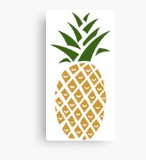 Pineapple (one) Canvas Print